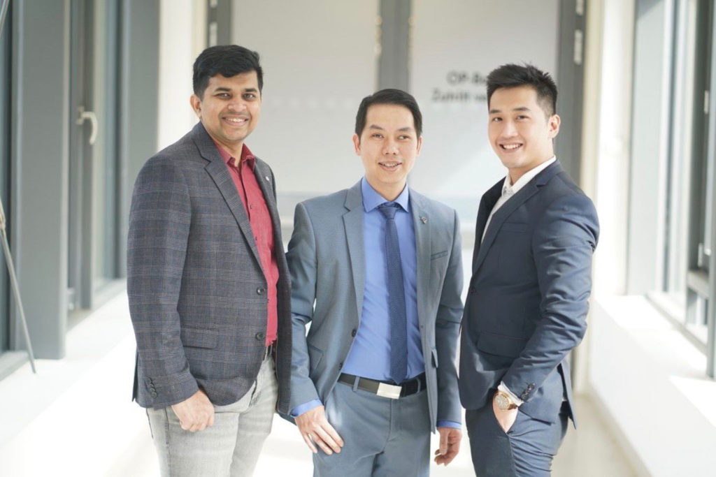 Adi Arthanareeswaran, Phuc Ho Thi and Manh Tu Vu founded the Leipzig startup Meindoc to better educate patients before surgery